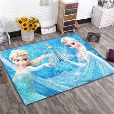 Disney Frozen Elsa Ann Rug Cartoon Princess Cute Children Room Carpet Nordic Girl Bedroom Living Room Blanket Kids Baby Game Mat Rug Aliexpress