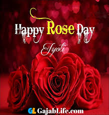 jyoti happy rose day pictures quotes images