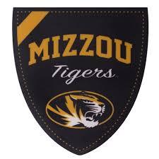 The Mizzou Store Mizzou Tigers Black Shield Sticker