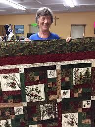 Myrna Turner of Hackensack was the winner of the quilt raffle at St. Paul's  Lutheran Church. | News | walkermn.com