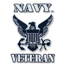 U S Navy Veteran Gear Navy Veteran Logo Decal Armed Forces Gear