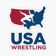 Usa Wrestling Stickers Redbubble