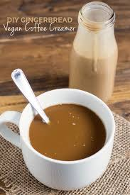 flavoured homemade coffee creamer