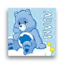 Care Bears Grumpy Bear 16 X 16 Canvas Wall Art