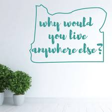 Oregon Wall Decal Why Vinyl Decor Wall Decal Customvinyldecor Com