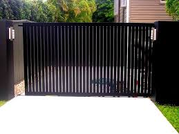 Vertical Slats For Side Gate House Gate Design Fence Gate Design Fence Design