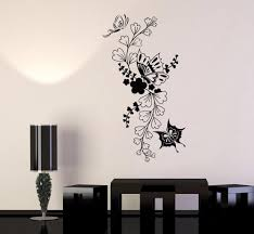 Nature Flowers Butterfly Floral Wall Stickers For Living Room Bedroom Home Wall Decoration Home Decor Stickers Wall Home Decor Wall Art Stickers From Onlybrand 11 37 Dhgate Com