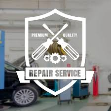 Auto Repair Wall Decal Car Service Logo Vinyl Interior Decoration Window Sticker Garage Shop Banner Mural Removable Tool A105 Wall Stickers Aliexpress