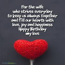 r tic birthday wishes for wife occasions messages