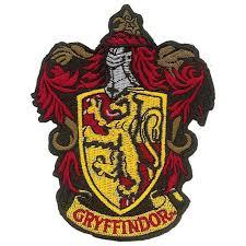 Harry Potter Gryffindor Iron On Patch Walmart Com Walmart Com