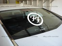 Purchase Large Foo Fighters Decal Sticker For Car Or Truck Motorcycle In Kingston Pennsylvania Us For Us 15 00