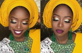 this makeup multi pleat gele tutorial