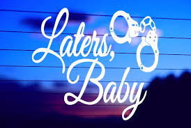 Later S Baby Car Decal Sticker