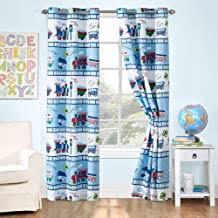 Amazon Com Train Curtains For Boys Room