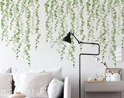 Vines Wall Decal Etsy