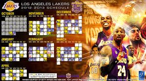 lakers schedule calendar 2016 2016 wall