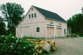 carriage barn post and beam 2 story