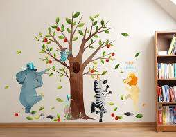 Illustrated Wall Decals Based On Children S Books
