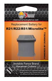 Invisible Fence Collar Replacement Battery New Improved Duracell Powered Ultra Life Battery All Invisible Fence Brand Elect Invisible Fence Dog Fence Duracell