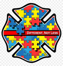 Autism Awareness Car Window Decal Autism Touches Us Yellow Jackets Fire Logo Hd Png Download 1400x1400 6898491 Pngfind