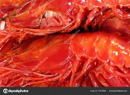 Detail Head Fresh Big Red Shrimp ...