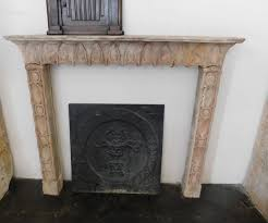 antique fireplace mantel 1900s for