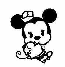 Minnie Mouse Disney Vinyl Decal Sticker Laptop Car Phone Ebay
