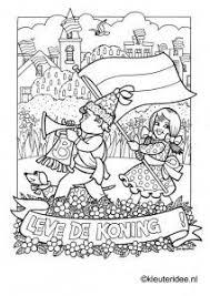 Kleurplaat Koningsdag Voor Kleuters 4 Kleuteridee Nl The Kigs