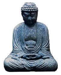 Stone Buddha Window Sticker Decal Peace Resource Project