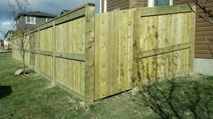 Fortress Style With 4x6 Posts And 2x6 Framing With Angled Gate Fence Design Deck Fence Yard