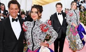 Met Gala 2019: Dominic West walks the red carpet with daughter Martha |  Daily Mail Online
