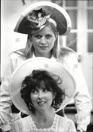 Milliner hatmaker Clare Wentworthstanley Janet James Editorial Stock Photo  - Stock Image | Shutterstock