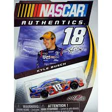 Nascar Authentics Joe Gibbs Racing Kyle Busch Snickers Toyota Camry Global Diecast Direct