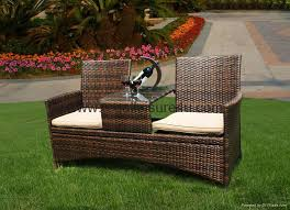 2 seat rattan garden furniture