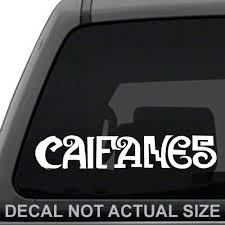 Amazon Com White Ink Decals Caifanes Banda De Rock Calcomania Sticker Decal Laptop Tablet Car Truck Automotive