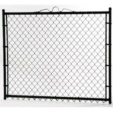 Black Chain Link Fence Gates At Lowes Com