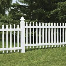 Freedom Pre Assembled 4 In X 4 In W X 6 Ft H White Vinyl Blank Fence Post In The Vinyl Fence Posts Department At Lowes Com