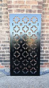 East1 Metal Privacy Screen Decorative Panel Outdoor Garden Fence Decor Art Fence Decor Outdoor Privacy Screen Panels Privacy Screen Outdoor