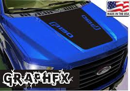 Vinyl Hood Decal Compatible With Ford F150 2015 2020 Truck Etsy