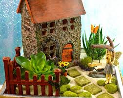 fairy garden cottage miniature house