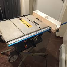 Cheap Tablesaw Custom Fence On T Track Woodworking