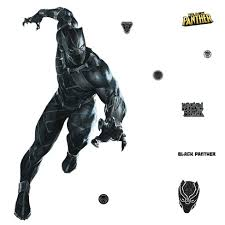 Black Panther Peel And Stick Giant Wall Decal Target