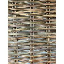 Master Garden Products 6 Ft H X 3 Ft W Willow Woven Hurdle Garden Fence Panel 2 Pack Wwp 36 The Home Depot