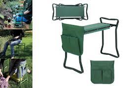 folding garden kneeler bench stools