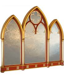 large gothic mirrors arched mirrors