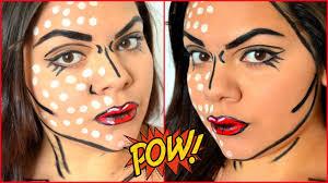 easy ic pop art makeup tutorial