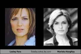 Lesley Fera Totally Looks Like Mariska Hargitay - Cheezburger ...