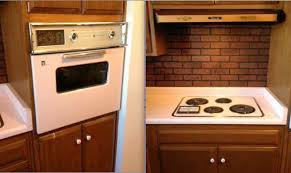 vintage 1947 pink ge wall oven