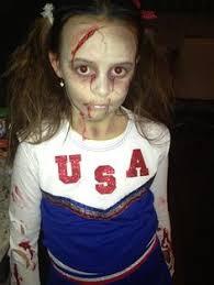 27 best zombie cheerleader makeup