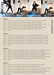 30 day workout plan for beginners 50
